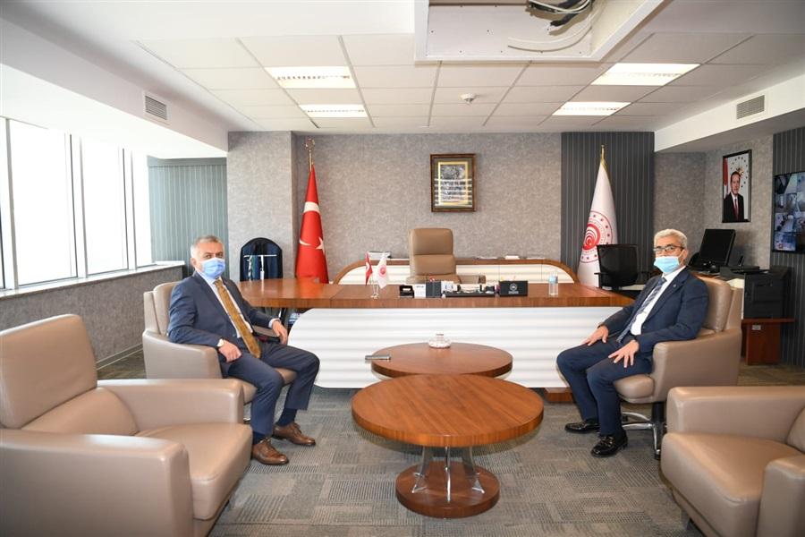 Antalya Valisi Sayın Ersin YAZICI İl Müdürlüğümüzü Ziyaret Etti.